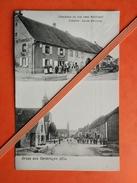 67 Gruss Aus Oermingen - Gasthaus Zu Den Zwei Schlussel, Inhaber: Louis Hertzog - Autres Communes