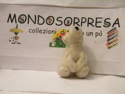 MONDOSORPRESA, PUPAZZI PELUCHE MOTTA CERCAFFETTO, (SC62-31),  ORSO BIANCO - Maxi (Kinder-)