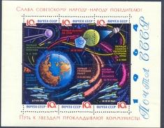 USSR 1964 Space. Block#34y(lackpapier)** - 1923-1991 USSR