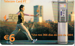 PHONECARDS-- PORTUGAL-CHIP--6€ USE..... - Portugal