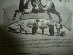 1855 Dessins Ou Grav:Signe Du TAUREAU --gardez-vous Jeunes Filles!;Un Conscrit NIAM-NIAM Extraordinaire ;Les PAYSANS - Vieux Papiers