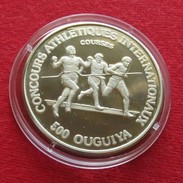 Mauritania 500 Ouguiya 1984 Runners - Mauritanie