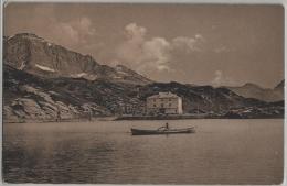 San Bernardino Hospiez - Animee Boot - Photo: D. Mischol No. 1005 - GR Grisons