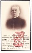 DP Foto Pastoor Priester Abbé STANISLAS M. BELLOY Brussel Antwerpen Mechelen Deurne - Devotieprenten