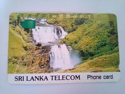 Sri Lanka Phonecard Rs 250 Units Waterfalls Tamura Used