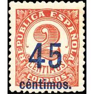ES743STV-LTV***743STSC.Spain.Esgane .Escritor.NUMERO SOBRECARGADO,nuevo Valor.1936(Ed 743**) - Sin Clasificación
