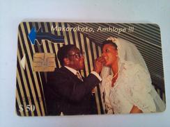 Zimbabwe Phonecard Z$50 Mugabe Wedding - Zimbabwe