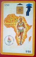 Zimbabwe Phonecard Z$50 African Games - Zimbabwe