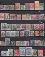 Belgique  Lot De 50 Timbres Avant 1940 - Belgique