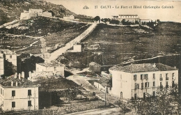 CALVI LE FORT ET HOTEL CHRISTOPHE COLOMB - Calvi
