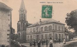PADOUX EGLISE ET ECOLE DES GARCONS - France