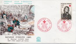 France. Enveloppe Fdc. Croix Rouge 1964. Lot De 2 Enveloppes - 1960-1969