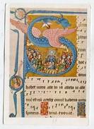 CHRISTIANITY  - AK297977 Codex Gisle : Pfingsten - Tableaux, Vitraux Et Statues