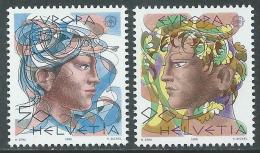 1986 EUROPA SVIZZERA MNH ** - B - 1986