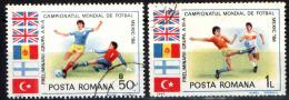 ROMANIA - 1985 - QUALIFICAZIONJI AL CAMPIONATO MONDIALE DI CALCIO - MESSICO '86 - USATI - Usado