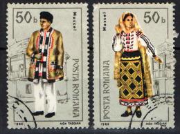 ROMANIA - 1985 - COSTUMI CARATTERISTICI DELLA ROMANIA - USATI - Usado