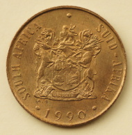 South Africa - 2 Cents - 1990 - UNC - South Africa