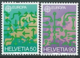 1988 EUROPA SVIZZERA MNH ** - B - 1988