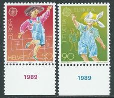 1989 EUROPA SVIZZERA MNH ** - B - 1989