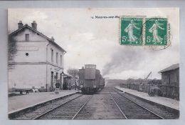 CPA - Mauves-sur-Huisne (61) - 14. La Gare - France
