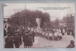 CPA Sépia - Fête Du 2 Octobre 1921 - Mauves-sur-Huisne (61) - 10. Inauguration Du Monument - Le Clergé - France