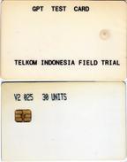 INDONESIA INDONESIEN - TEST DEMO - IND CT 1a - 30u GPT TEST Y2 025 - Very Hard To Find - RRRR