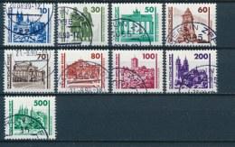DDR/East Germany/Allemagne Orientale 1990 Mi: 3344-3352 Yt:  (Gebr/used/obl/o)(2094) - Oblitérés