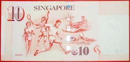 § SPORTS: SINGAPORE ★ 10 DOLLARS (1999)! UNC CRISP! LOW START ★ NO RESERVE! - Singapore