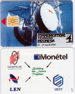 INDONESIA INDONESIEN - TEST DEMO  -  IND CT 20  Gemplus Monetel 200ex.   - Very Hard To Find - RRRR
