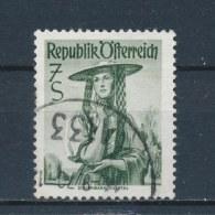 Oostenrijk/Austria/Autriche/Österreich 1952 Mi: 980 Yt: 807A (Gebr/used/obl/o)(2107) - 1945-.... 2ème République