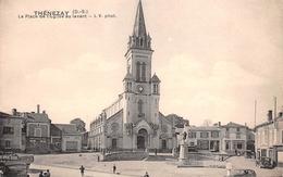 79 - Thénnezay - La Place De L'Eglise Au Levant - Thenezay