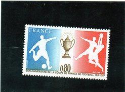 B - Francia 1977 - 60° Ann. Coppa Di Francia Di Calcio - Francia