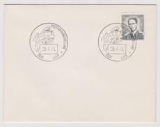 Enveloppe Cover Brief Lunettes Marchand 924 Posttentoonstelling Lier - Belgium
