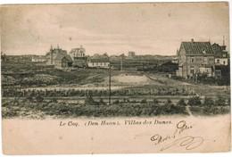De Haan, Coq Sur Mer, Vue Générale Et L'Eglise (pk32781) - De Haan