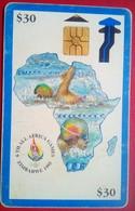 Zimbabwe Phonecard Z$30 African Games - Zimbabwe