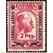 ES786STV-LTV***786STRCRI.Spain.Esgane .Transporte De Avion.VIRGEN DE MONTSERRAT AEREO.1938(Ed 786**) - Cristianismo