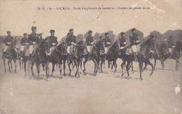 Saumur - Ecole D'application De Cavalerie - Ecuyers En Grande Tenue - Uniformes
