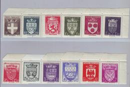 FRANCE - Y&T N° 553/564 - 1942 - 12 Valeurs - Neufs ** Avec Bdf - Unused Stamps