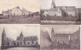 Abbaye De Maredret Maredsous - Lot De 6 Cartes (animée, Attelage,...) - Anhée