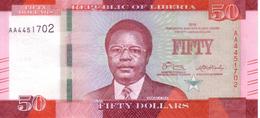 LIBERIA   50  Dollars  Emission De 2016    ***** BILLET  NEUF ***** - Liberia