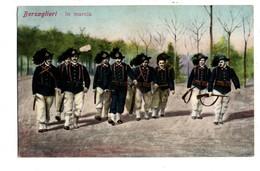 "MILITARIA . BERSAGLIERI . "" IN MARCIA "" . Corps De L'Armée De Terre Italienne - Réf. N°1425 - - Regiments"