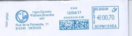 Belgique: EMA De Gesves : Ligue équestre Wallonie Bruxelles Asbl  Du 12/04/17