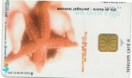 PHONECARDS-- PORTUGAL-CHIP - EXPO 98-- TRANSPARENTE --BOM ESTADO - Portugal