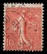 N° 129 Variété Picage Décalé. TB - 1903-60 Semeuse Lignée