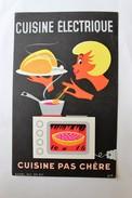 Buvard Cuisine électrique Cuisine Pas Chère BOB - Buvards, Protège-cahiers Illustrés