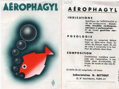 AEROPHAGYL - Laboratoires G. Beytout ( 96294) - Produits Pharmaceutiques