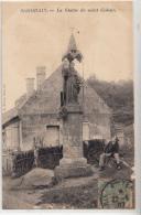 -02- Saint Gobain  La Statue De St Gobain - Francia