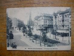 """Belgique , Bruxelles , Bruxelles - Schaerbeek , L'avenue Louis Bertrand """" Carte De 1918 """" - Avenues, Boulevards"""