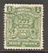 002962 Rhodesia 1898 1/2d FU - Great Britain (former Colonies & Protectorates)