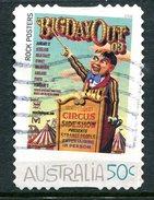 Australia 2006 Rock Posters - Self-adhesive - 50c Value Used - 2000-09 Elizabeth II